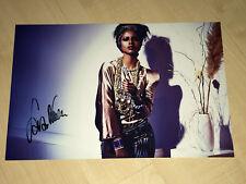 Sara Nuru 20x30 high quality firmado signed Autograph autógrafo ** top **
