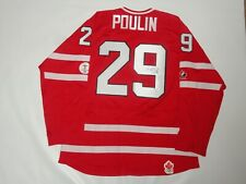 MARIE PHILIP-POULIN SIGNED TEAM CANADA 2010 OLYMPIC HOCKEY JERSEY PSA COA