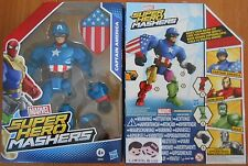 HASBRO MARVEL FIGURINE FIGURE CAPTAIN AMERICA SUPER HERO MASHERS réf B6682 NEUF