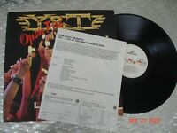 "Y & T ‎– ""Open Fire""  Vintage Metal GOLD STAMP PROMO LP   A&M Records ‎– SP-5076"