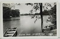 NY Indian River Antwerp New York 1952 to Stonwham Mass Rppc Postcard O15