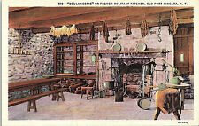 Fort Niagara, New York, Boulangerie, French Military Kitchen - Postcard (II)