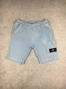 Stone Island Shorts Size Large Sky Blue Good Overall Condition
