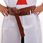 Medieval LARP Viking Battle Knight Belt PU Leather Belt Men Costume Belt Gift
