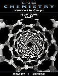 Study Guide to accompany Chemistry: Matter and Its Changes, 4th Edition