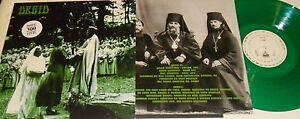 LP DRUID Druid GREEN VINYL 300 copies NASONI REC. N 170 STILL SEALED