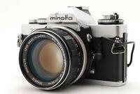【N MINT】Minolta XD-D SLR Film Camera MC Rokkor-PF 58mm F1.4 MF From JAPAN