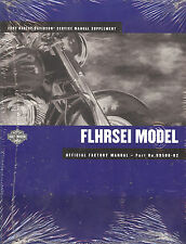 2002 HARLEY-DAVIDSON CVO FLHRSEI ROAD KING SERVICE MANUAL SUPPLEMENT -NEW SEALED