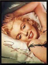 Marilyn Monroe Nostalgie 6x8 cm Blech Kühlschrank Magnet EMAG09