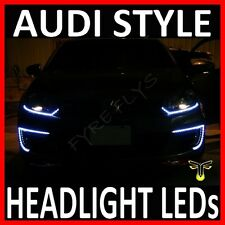 "WHITE 12"" LED SIDE SHINE HEAD LIGHT STRIP DRL HEADLIGHT STRIPS #B5"