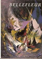 Léon Bellefleur Fervor of quest Canadian Painter 1988 Mint