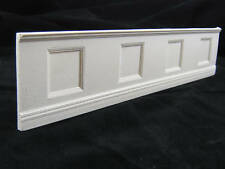 Wainscot Panel - dollhouse wall cast miniature - UMWC1 - 1pc - 1/12 scale