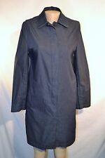 MARSH LANDING Dark Blue Coat Size Small Unlined Long Sleeves