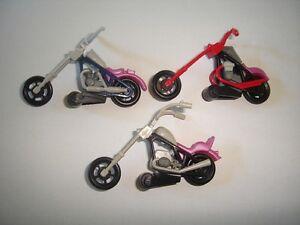 AMERICAN CHOPPERS 1990 MODEL MOTORCYCLES SET 1:64 H0 KINDER SURPRISE MINIATURES