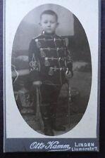 Foto Preussen Husar Kind in Husaren Uniform Linden Hannover
