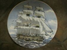 Great American Sailing Ships ~ Bon Homme Richard ~ Rosenthal,/Danbury Mint, Euc