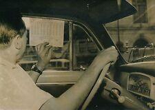 PARIS 1957 -  Auto Chauffeur deTaxi  Nouveaux Tarifs - PR 594