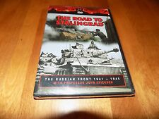 THE WAR FILE Russian Front 1941-1945 The Road To Stalingrad WWII Nazi DVD NEW