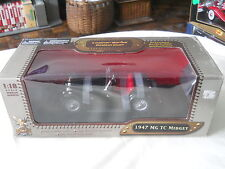1947 MG TC Midget Road Signature 1:18 Diecast