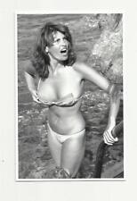 SEXY RAQUEL WELCH (AN1 4) PHOTO POSTCARD ACTRESS FILM STAR PIN UP GLAMOUR