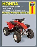 1993-2014 Honda TRX 300 400 450 FourTrax Four Trax Quad ATV HAYNES REPAIR MANUAL