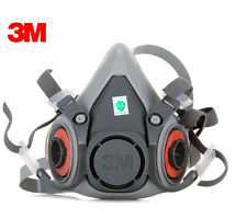 3M 6200 Respirator Gas Mask Dust Filter Paint Dust Spray Chemical Half Face Mask