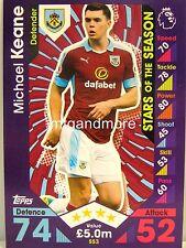 Match Attax 2016/17 Premier League - SS3 Michael Keane  - Stars of the Season