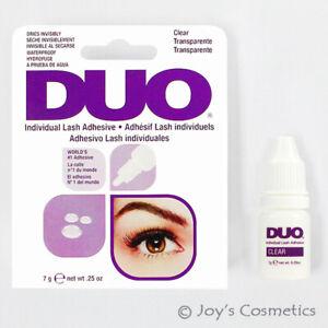 1 Duo Individuel Cil Adhésif Imperméable Colle - Transparent Joy's Cosmétiques