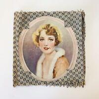 Antique 1927 Cloth Scrapbook Album Handmade Advertising Campbells Wrigleys