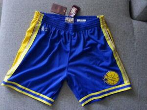 Mitchell & Ness Golden State Warriors 1995-96 CNY Swingman Shorts Mens 2XL NWT