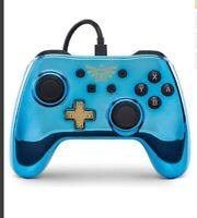Nintendo Switch ZELDA BREATH OF THE WILD CHROME Controller Control Pad * NEW
