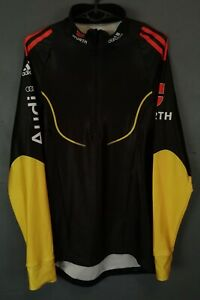 MEN'S ADIDAS CYCLING BICYCLE SHIRT JERSEY MAILLOT MAGLIA LONG SLEEVE SIZE L 3 48