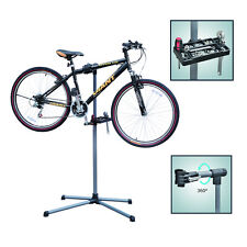 Pro Home Mechanic Folding Bike Bicycle Cycle Repair Work Stand Rack Adjustable