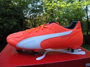103266 PUMA EVOSPEED 3.4  SG ORANGE LAVA 7 - 11 UK Mens football boots screw in