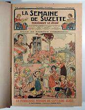 La semaine de Suzette rare reliure 1940 - No 1 à 27 complet TBE