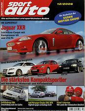 sport auto 12/06 2006 Audi RS4 Avant Cabriolet S3 BMW 130i Mazda 3 MPS Volvo C30
