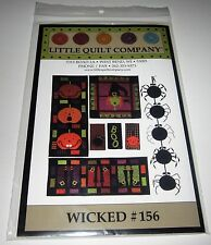 WICKED WITCH Wall Quilt WITCHES BOOTS RUNNER String of Spiders sewing Pattern