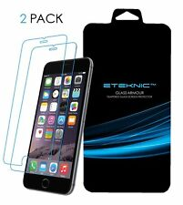 x2 Tempered Glass Screen Protector Apple iPhone 6 / 6s Plus eTEKNIC Glass Armour