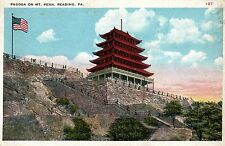 Pagoda on Mt Penn in Reading PA OLD