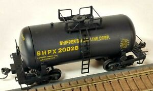 "HO Scale Roundhouse Custom Decal SHPX ""Shorty"" Chemical Tank Car, Kadee Trucks"