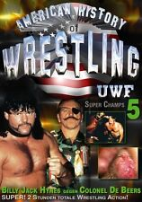 UWF American History of Wrestling Super Champs 5 Orig DVD WWE Wrestling wwow