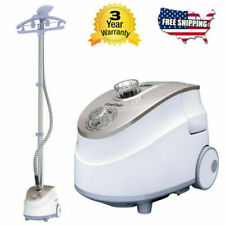 1800W 2-In-1 Stand Garment Steamer 11 Levels Clothes Fabric Wrinkle Iron Remover