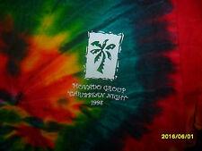 NEW 1998 Movado Watch Group Caribbean Night Tie Dye XL Adult Unisex Shirt