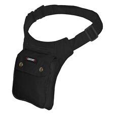 Sidebag Bauchtasche Gürteltasche Hüfttasche Stofftasche 3 Fächer Tasche
