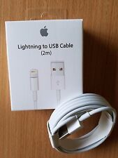 New 2M/6Ft Lightning to USB Cable Charger for Apple iPhone 7 Plus, 7, 6, 5