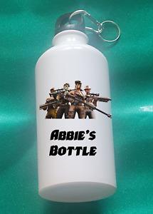Personalised Fortnite Metal water bottle (500ml)