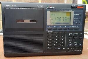 Realistic Dx-392. Rare. Vintage radio. Retro.