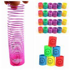 DIY 2pcs/lot Slinky Smiley Mini Springs Party Bag Fillers Wedding Kids Toy Prize