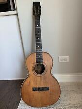 Rare Vintage 1890's Gerhard Almcrantz Chicago Parlor guitar Larson Martin !!