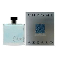 Azzaro Chrome After Shave Lotion Splash 3.4oz 100ml * New in Box Sealed *